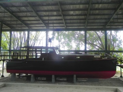 El Pilar, the boat that inspired him to write The Old Man and the Sea