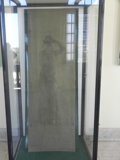 The stretcher in which Ché Guevara died in Bolivia
